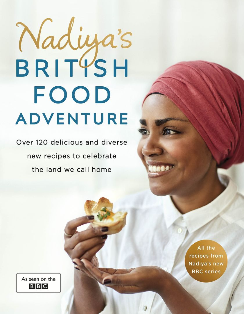 Nadiya's British Food Adventure - 2018 Cookbook for Mother's Day Gift