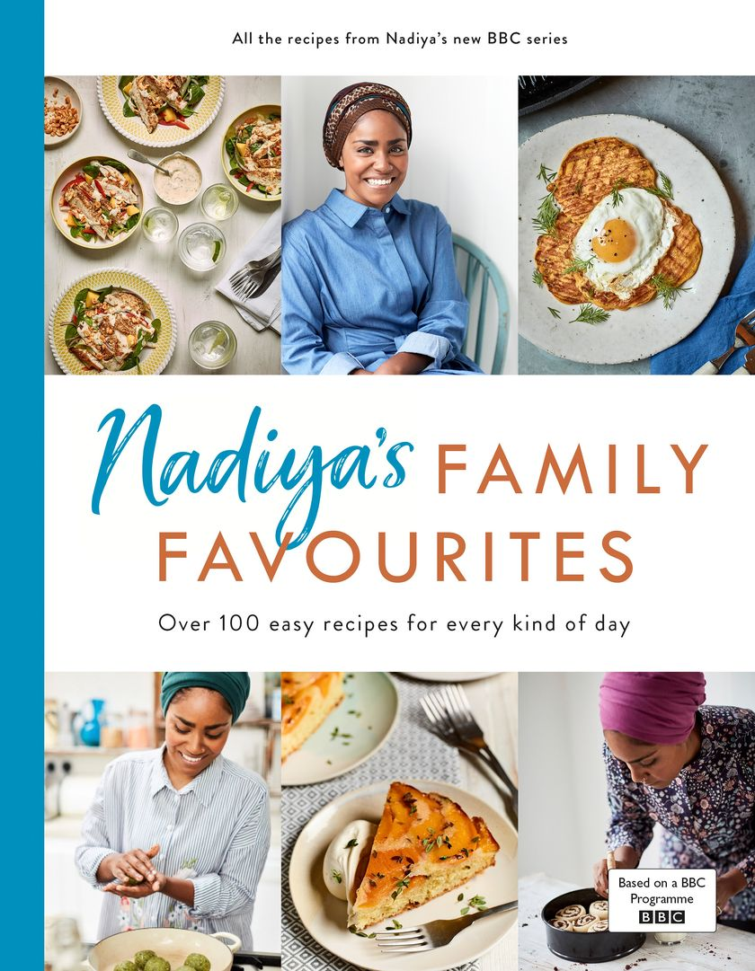 Best Cookbook Gifts for Mothers Day 2019 | The Happy Foodie Picks - Nadiya's Family Favourites