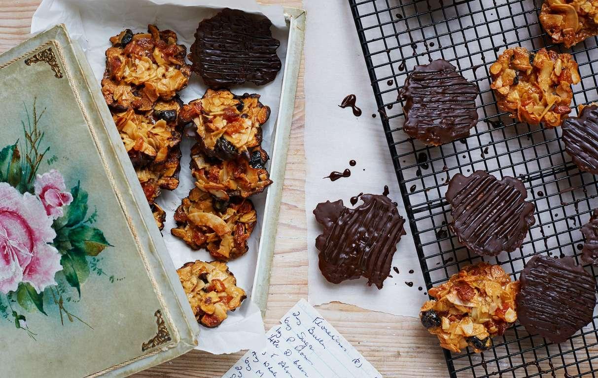 Jamie Oliver Nan S Lemon Drizzle Cake Recipe: Candice Brown's Nan's Florentines
