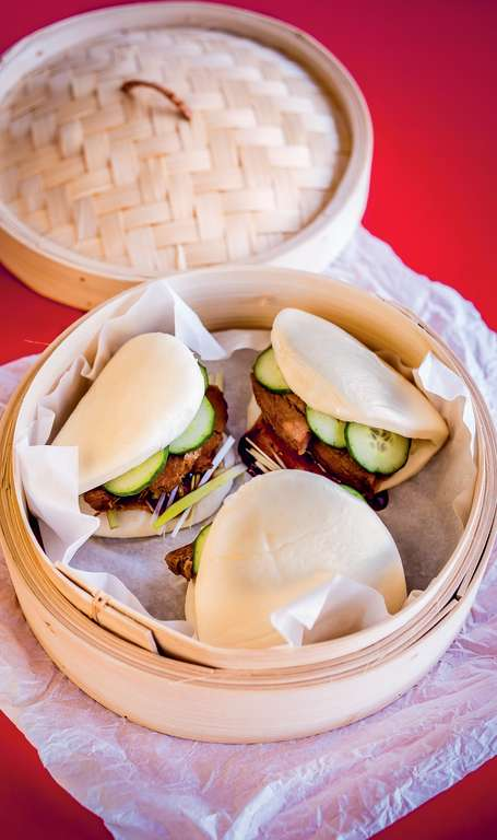 Buta Kakuni Manju (Pork Belly Buns)
