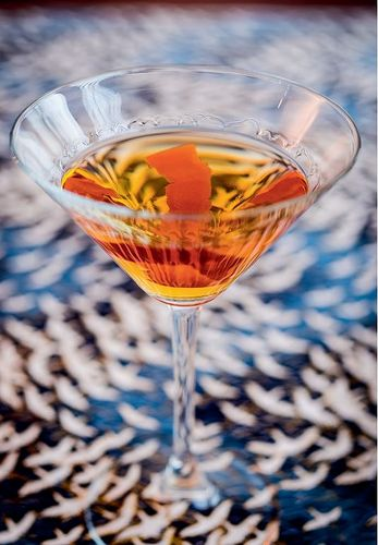 Nanhattan cocktail from Tim Anderson's Nanban cookbook