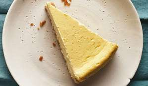 New York Baked Cheesecake Recipe | Make-ahead Dinner Party Desserts