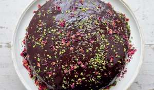Dark and Sumptuous Chocolate Cake from Nigella Lawson's Simply Nigella