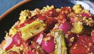Nigella Lawson Spiced Bulgur Wheat Veg Recipe | BBC2 Cook, Eat, Repeat