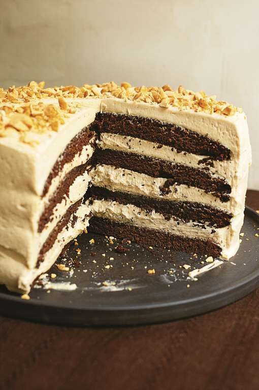 Nigella Lawson's Chocolate Peanut Butter Cake