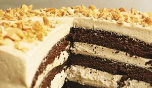 Nigella Lawson Chocolate Peanut Butter Cake | BBC2 Cook, Eat, Repeat