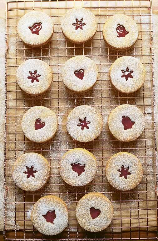 Nigella Lawson's Linzer Cookies