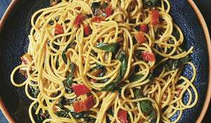 Nigella Lawson Spaghetti with Chard, Chilli & Anchovies | BBC2 Cook, Eat, Repeat