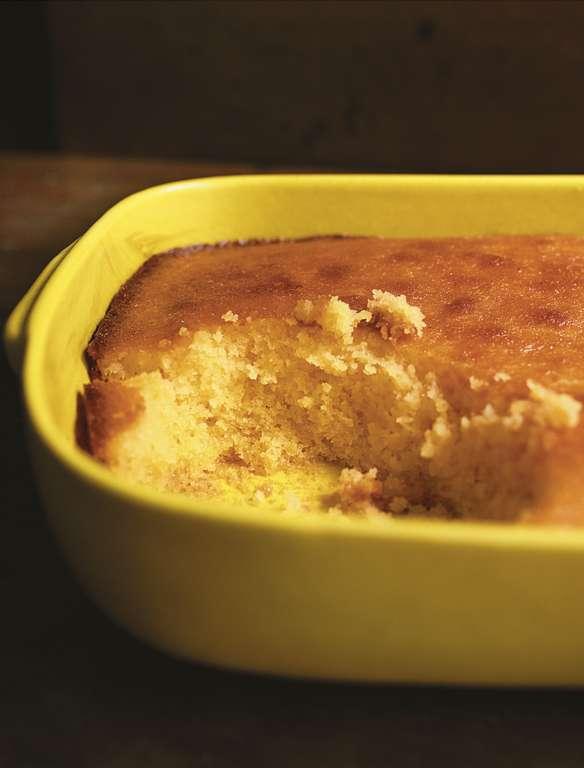 Nigella Lawson's Warm Lemon and Elderflower Pudding
