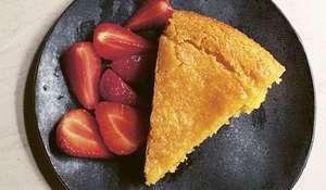 Nigella Lawson Vegan Lemon Polenta Cake | Veganuary 2021