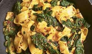 Nigella Lawson's Pappardelle Pasta, Cavolo Nero & 'Nduja | BBC2 Cook, Eat, Repeat