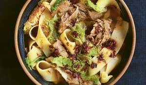 Nigella Lawson Aromatic Lamb Shank Noodle Broth Recipe | BBC2 Cook, Eat, Repeat