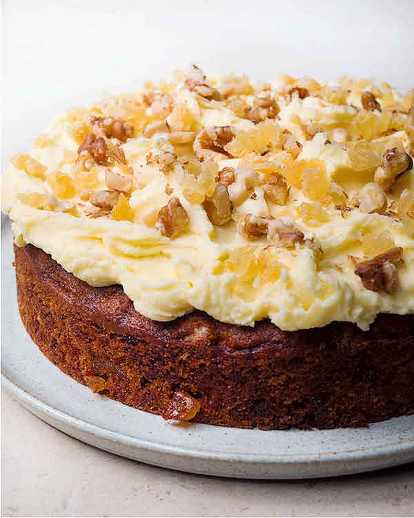 best nigella recipes ginger and walnut cake nigella lawson at my table