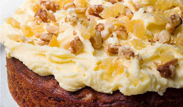 Nigella Lawson S Ginger And Walnut Carrot Cake