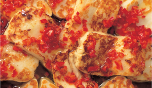 Halloumi with Chilli