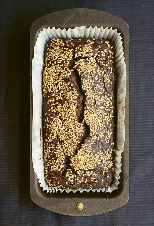 Nigella Lawson's Chocolate and Tahini Banana Bread