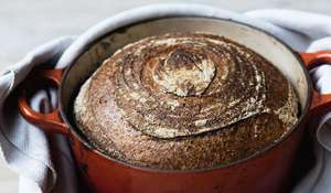 Bread Ahead Bakery's No Knead Sourdough