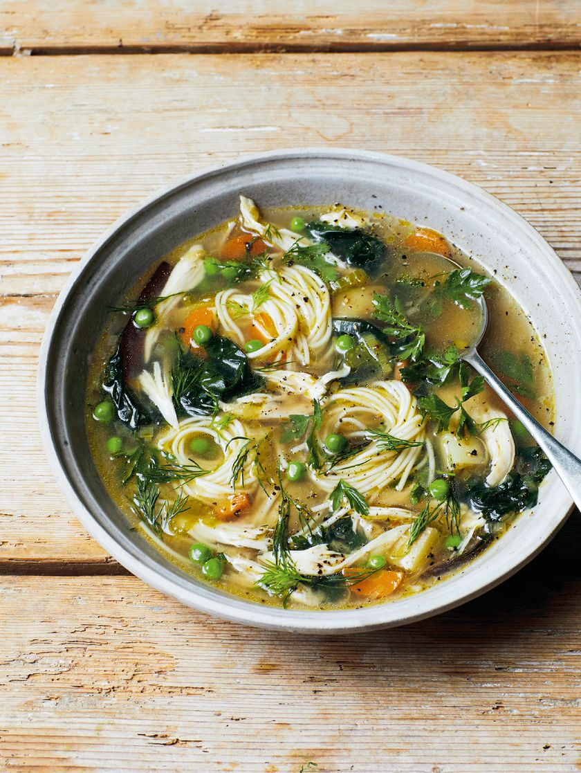 Melissa Hemsley's Zero Waste Comforting Chicken Soup