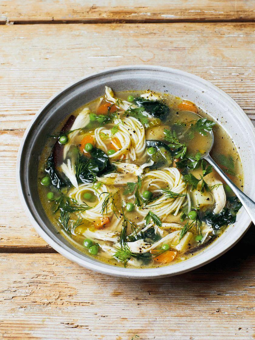 Melissa Hemsley's Zero Waste Comforting Chicken Soup
