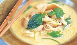 Northern Thai Chicken Noodle Soup