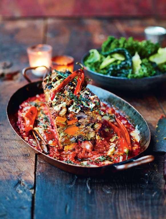 Jamie Oliver's Vegetarian Nut Roast