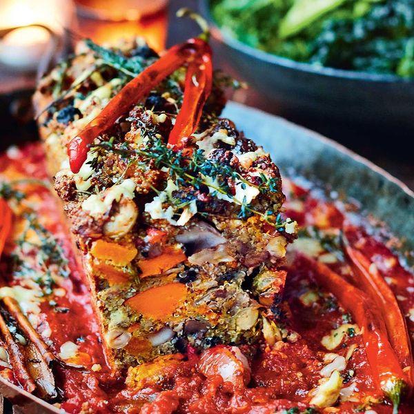 Jamie Oliver Nut Roast Vegetarian Christmas Main Recipe