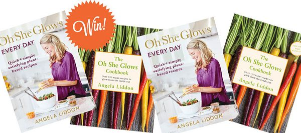 win oh she glows cookbooks
