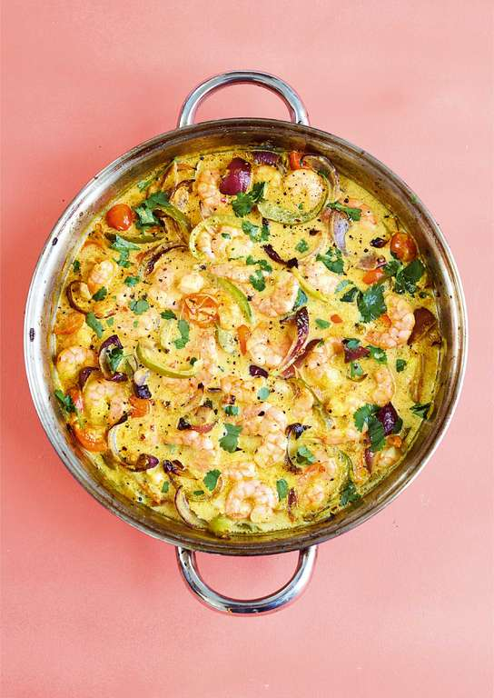 One-pot Kerala Prawn Curry