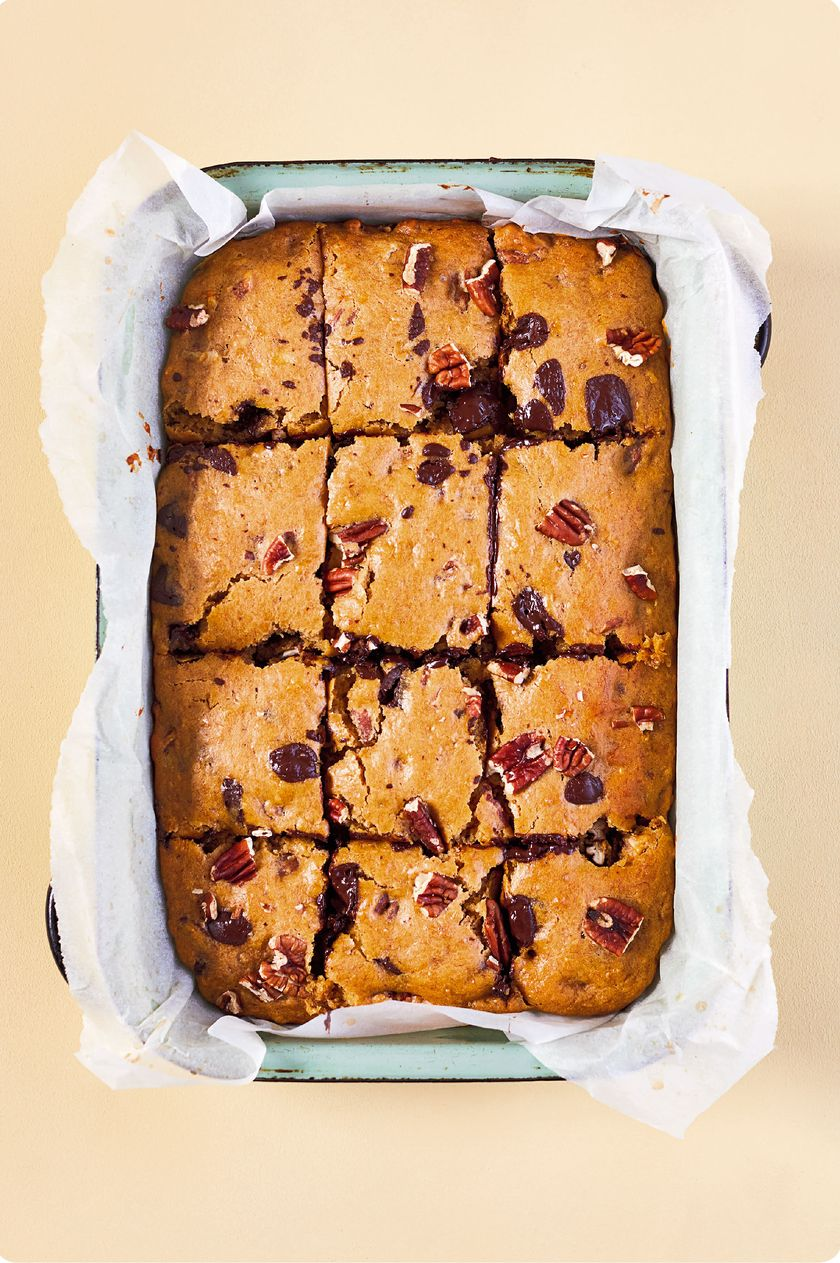 10 Quick & Healthy One Tray Oven Recipes from The Quick Roasting Tin - pecan chocolate chip