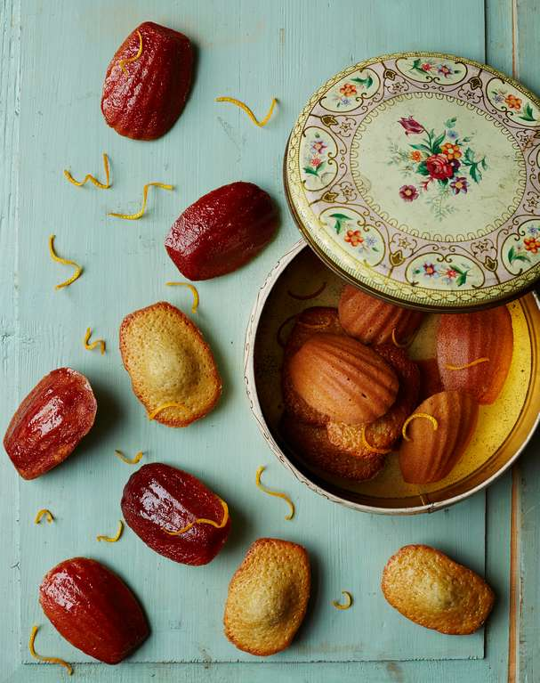 Orange & Hibiscus Madeleines