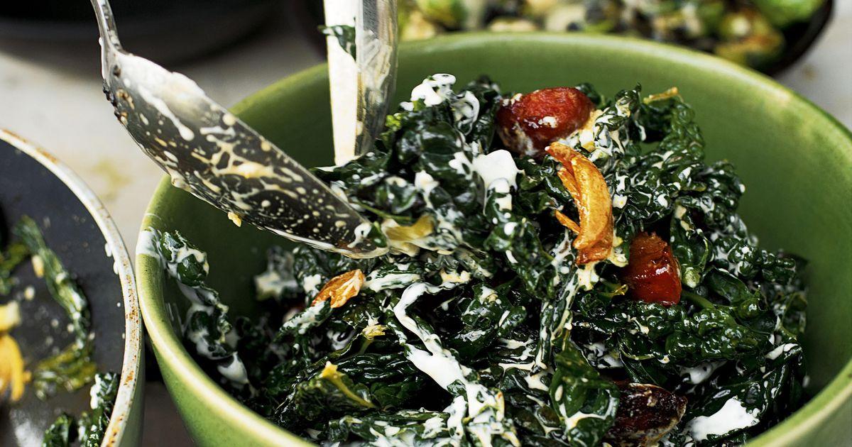 cavolo nero recipe | ottolenghi vegetables