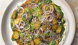 Ottolenghi Chaat Masala Potatoes Recipe | ITV Saturday Kitchen