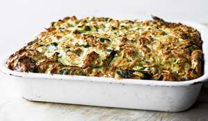 Yotam Ottolenghi SIMPLE Courgette Frittata Bake