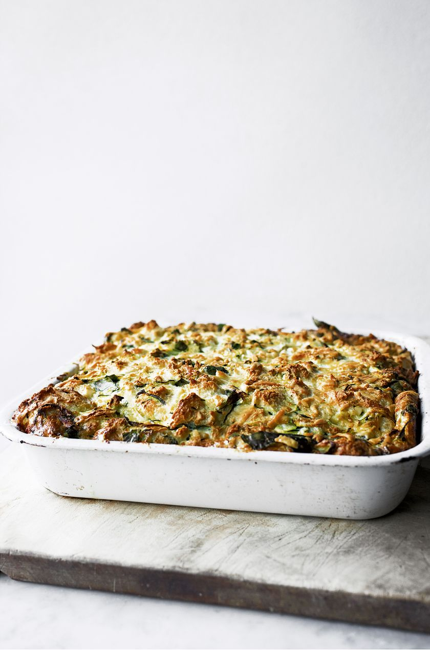 Yotam Ottolenghi Courgette Traybake
