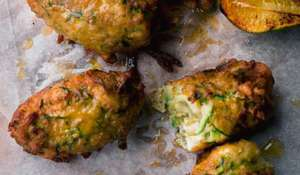 Courgette Fritters Recipe | Ottolenghi Dinner Party Starter