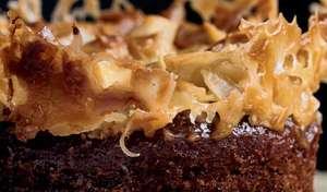 Ottolenghi's Sticky Fig Pudding with Salted Caramel and Coconut