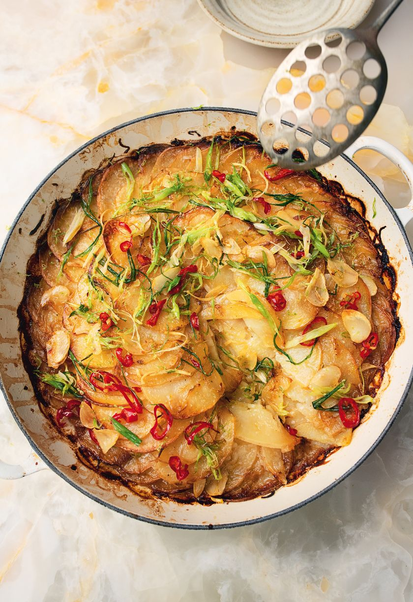 Lime & Coconut Potato Gratin from Ottolenghi FLAVOUR