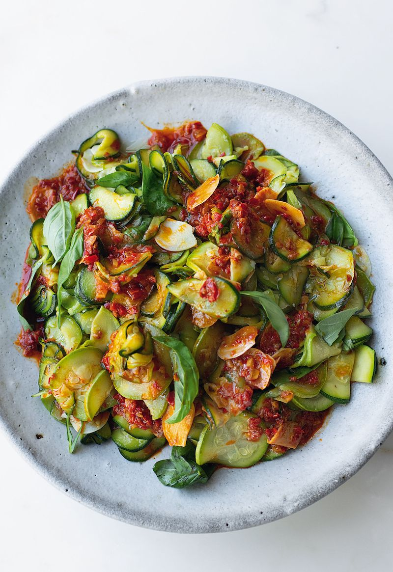 super soft courgettes with harissa flavour ottolenghi cookbook harissa recipes