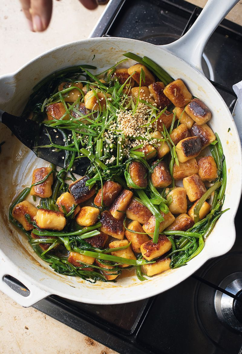 swede gnocchi with miso butter ottolenghi flavour cookbook miso recipes