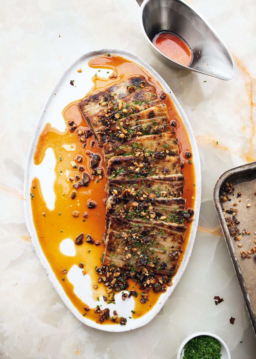 Turnip Cake from Ottolenghi FLAVOUR
