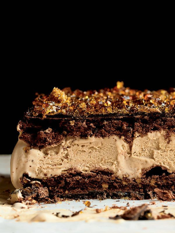 ottolenghi christmas recipes frozen espresso parfait sweet