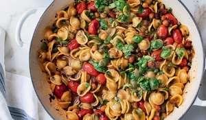 Yotam Ottolenghi One-pot Orecchiette Pasta Puttanesca Recipe | FLAVOUR