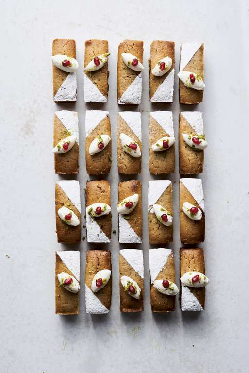Ottolenghi's Persian Love Cakes