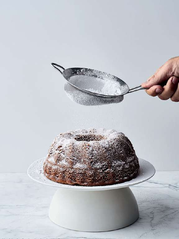 Prune Cake with Armagnac and Walnuts