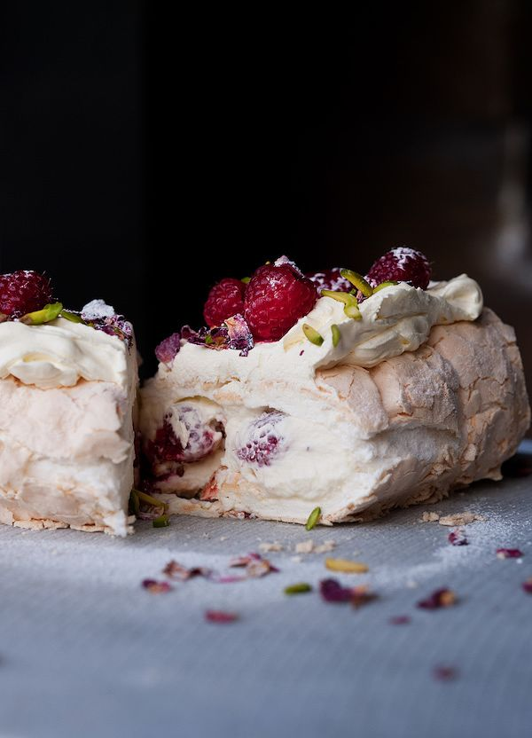 ottolenghi christmas recipes meringue roulade plenty more