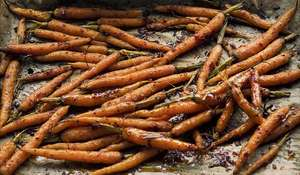 Ottolenghi Roasted Baby Harissa Carrots Recipe | Middle Eastern Vegetables