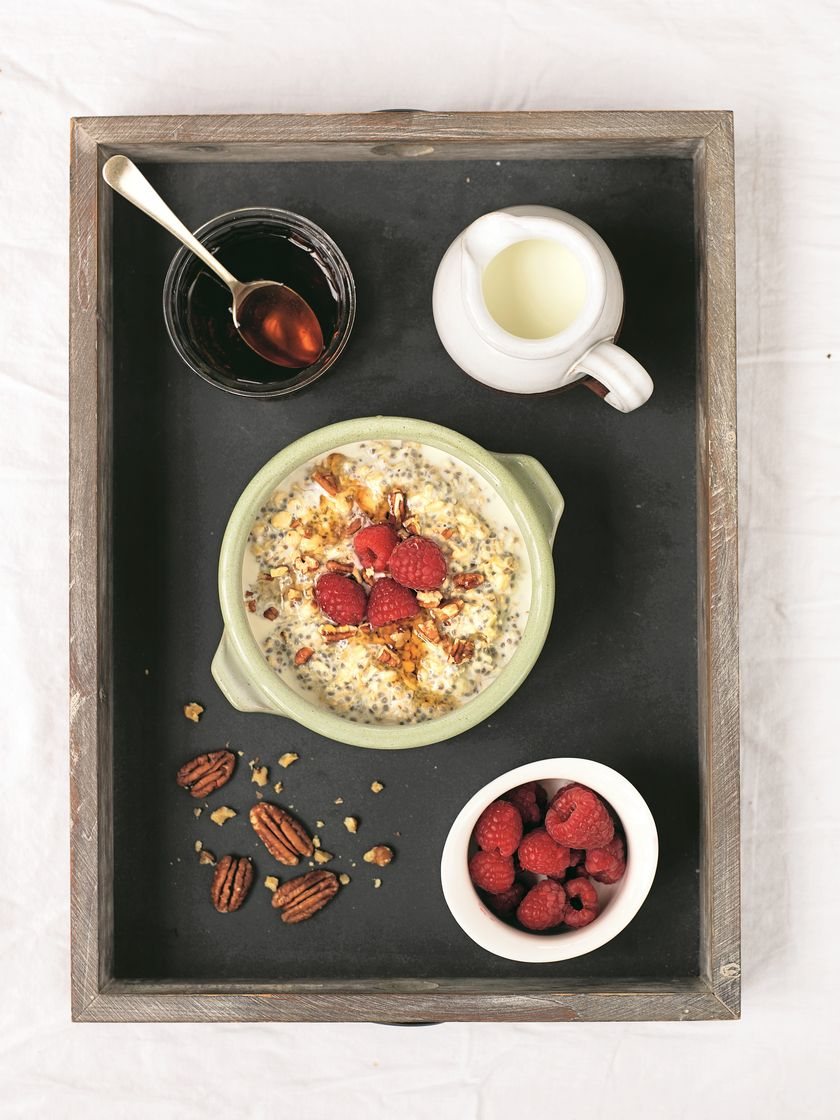 What To Eat When Working From Home | Overnight Oats Recipe