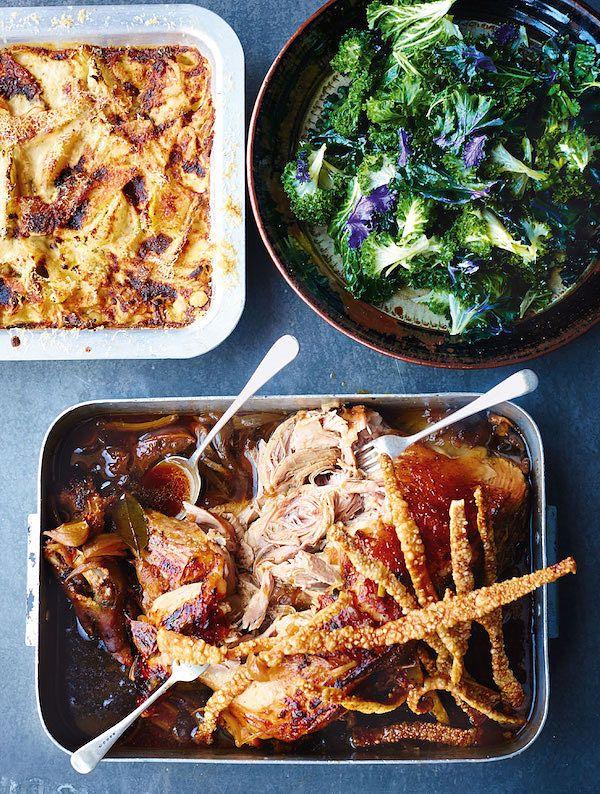 best roast pork recipes overnight roast pork shoulder jamie oliver comfort food