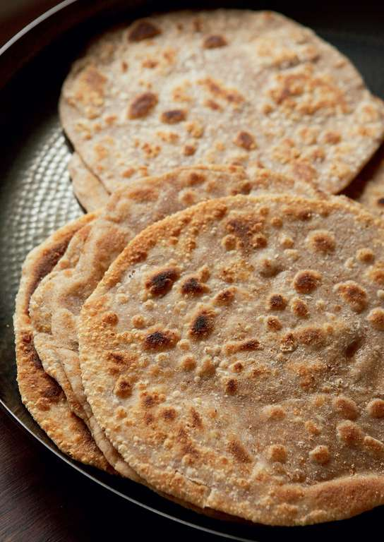 Wholemeal Griddle Bread (Paratha)