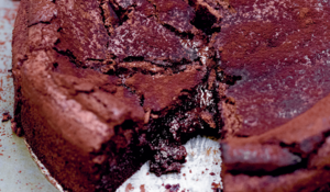 Chocolate Sunken Soufflé Cake from The Violet Bakery Cookbook